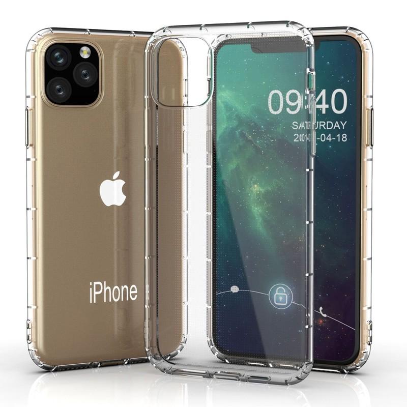 Mobiq Schokbestendig TPU Hoesje iPhone 11 Pro Max Transparant - 4