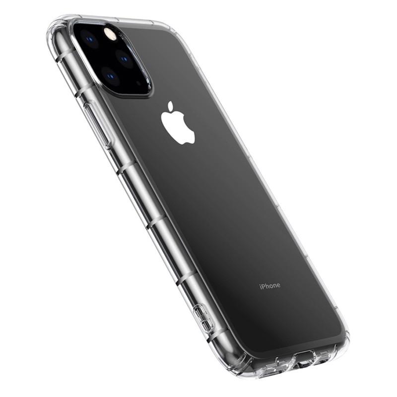 Mobiq - Schokbestendig TPU Hoesje iPhone 12 6.1 Transparant - 3