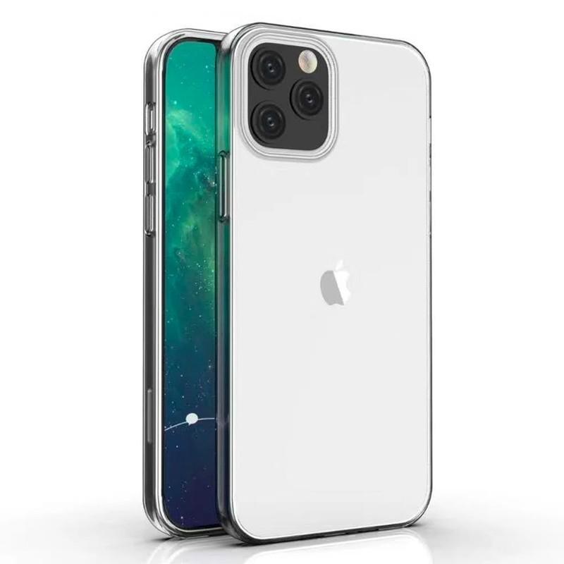 Mobiq - TPU Clear Case iPhone 12 6.1 Transparant - 1