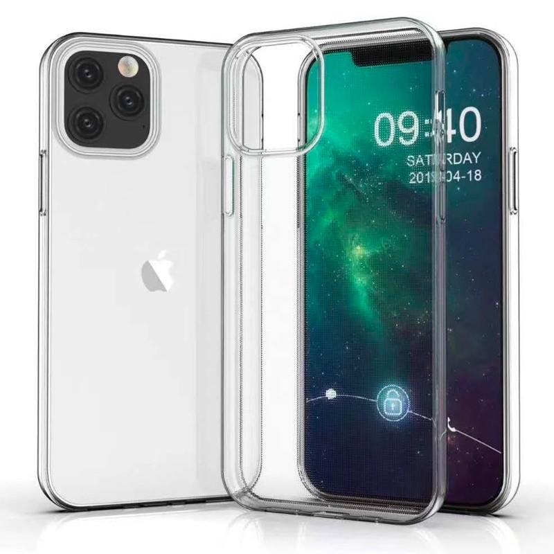 Mobiq - TPU Clear Case iPhone 12 Pro Max Transparant - 7