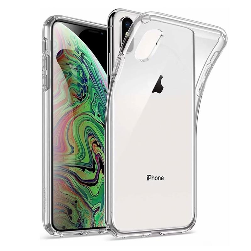 Mobiq TPU Clear Case iPhone X/XS - 1