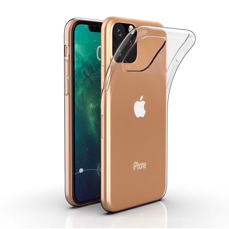 Mobiq TPU Hoesje iPhone 11 Pro Transparant - 1