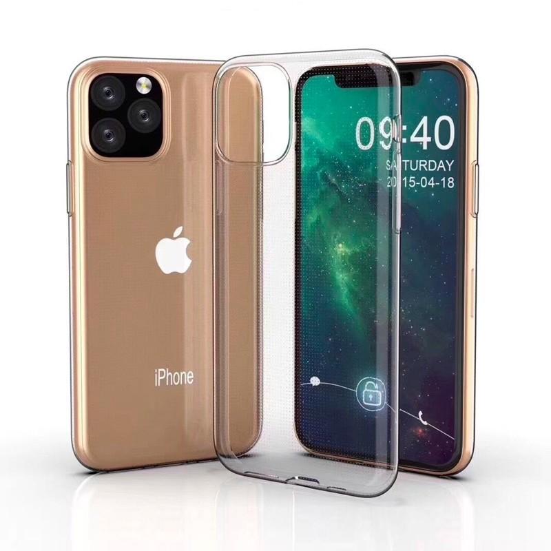 Mobiq TPU Hoesje iPhone 11 Pro Transparant - 5