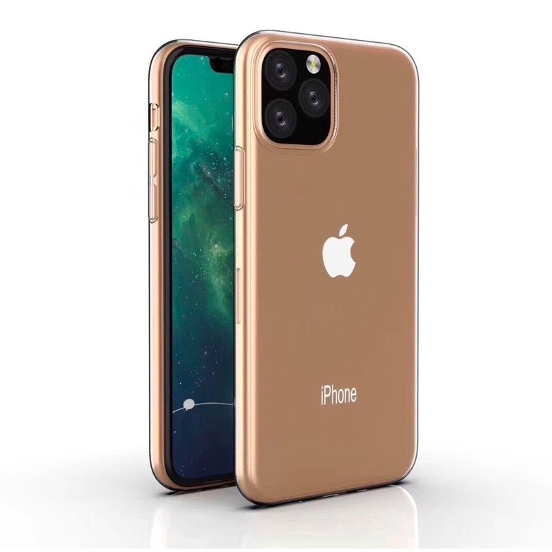 Mobiq TPU Hoesje iPhone 11 Pro Transparant - 3
