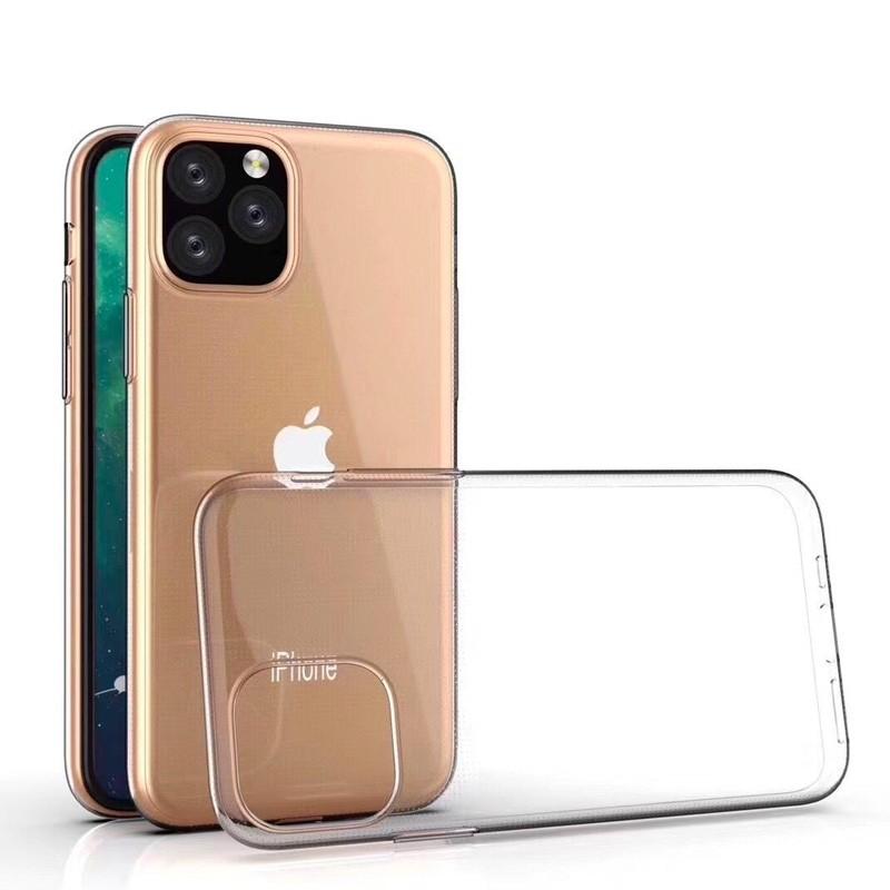 Mobiq TPU Hoesje iPhone 11 Pro Max Transparant - 2