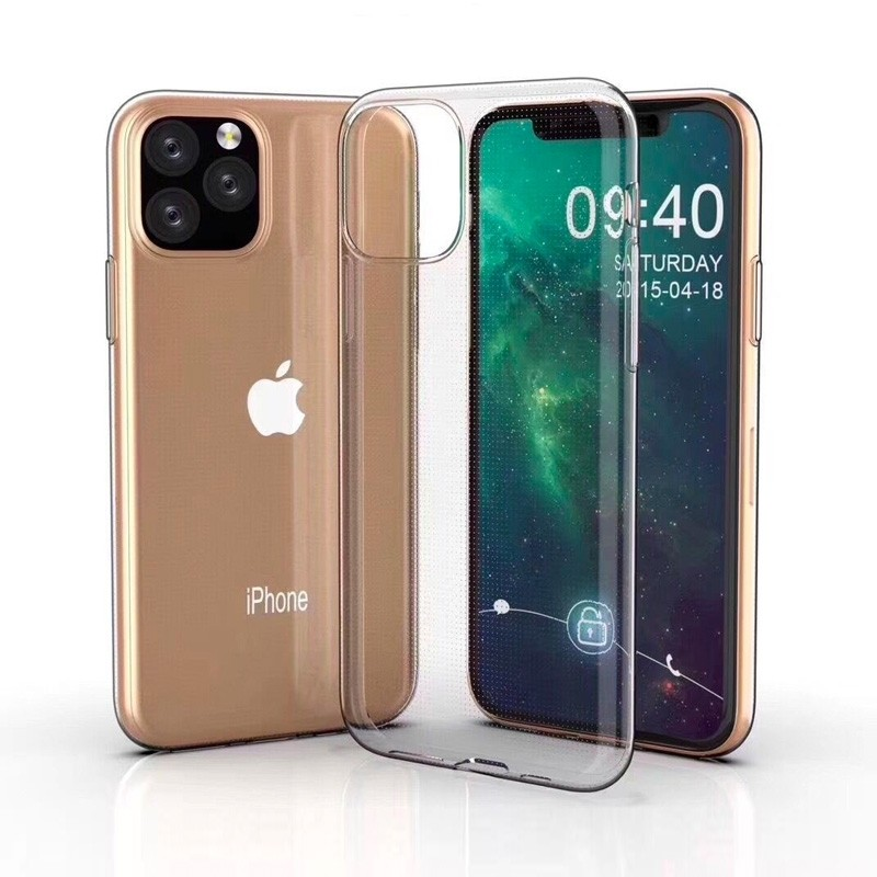 Mobiq TPU Hoesje iPhone 11 Pro Max Transparant - 3