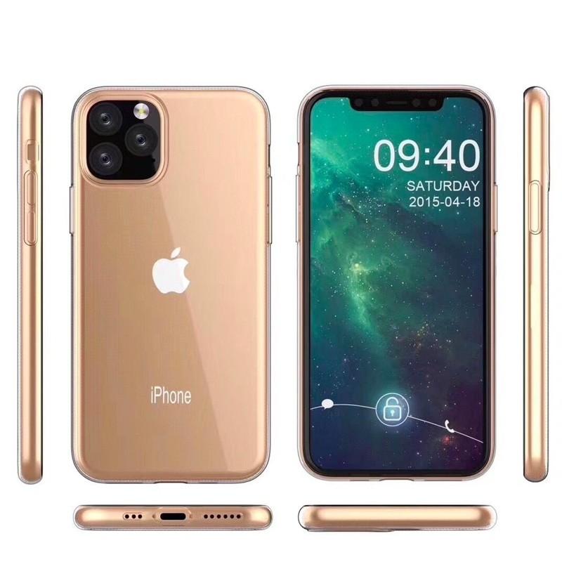 Mobiq TPU Hoesje iPhone 11 Pro Max Transparant - 5