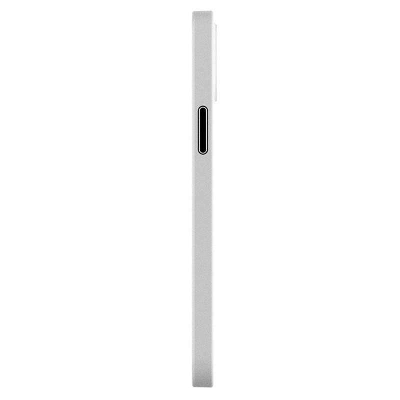Mobiq - Ultra Dun 0.3mm Hoesje iPhone 12 Mini Transparant - 4