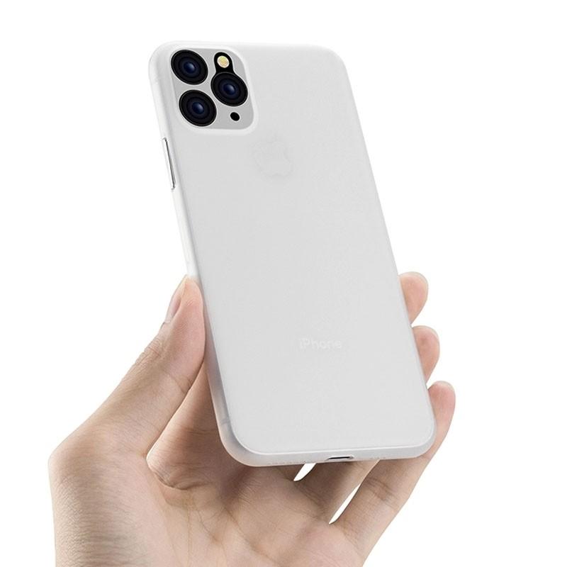 Mobiq Ultra Thin 0,33mm Case iPhone 11 Transparant - 1