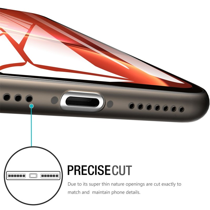 Mobiq Ultra Thin 0,33mm Case iPhone 11 Transparant - 2