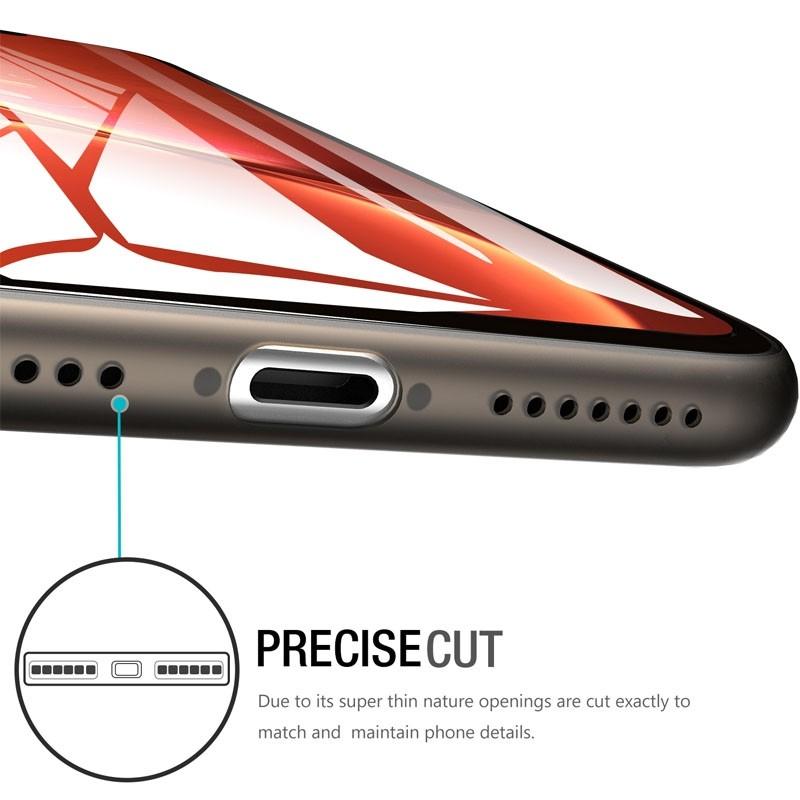 Mobiq Ultra Thin 0,33mm Case iPhone 11 Zwart - 2