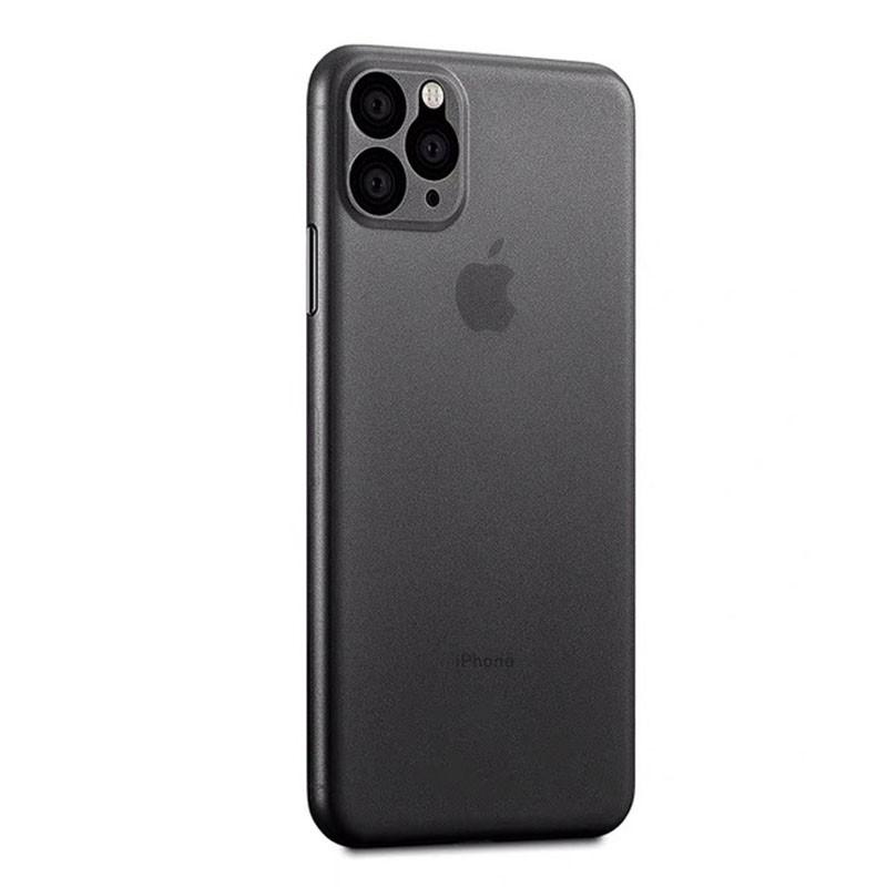 Mobiq Ultra Thin 0,33mm Case iPhone 11 Zwart - 1