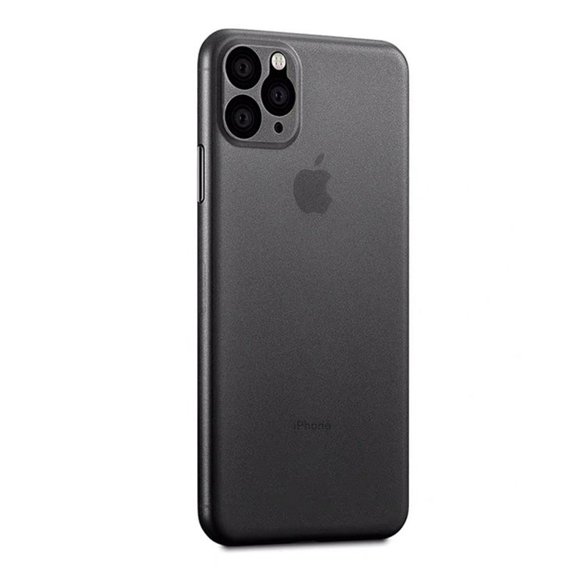 Mobiq Ultra Dun 0,3mm iPhone 11 Pro Hoesje Zwart - 1