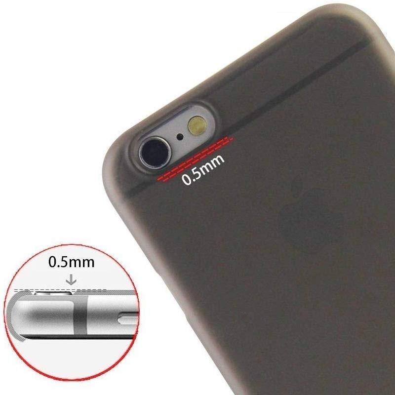 Mobiq Ultra Dun 0,3mm iPhone 6 Plus/6S Plus Zwart - 2