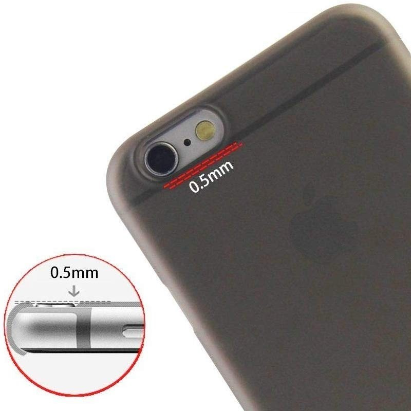 Mobiq Ultra Dun 0,3mm iPhone 6 Plus/6S Plus Transparant - 2