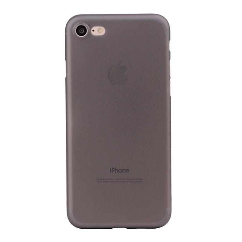 Mobiq Ultra Dun 0,35 mm Hoesje iPhone 8/7 Zwart - 2