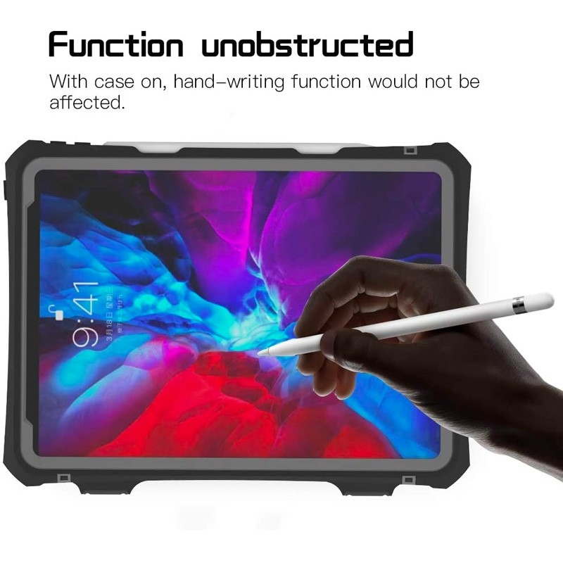 Mobiq Waterdichte Hoes iPad Pro 11 inch (2021/2020) Zwart - 3