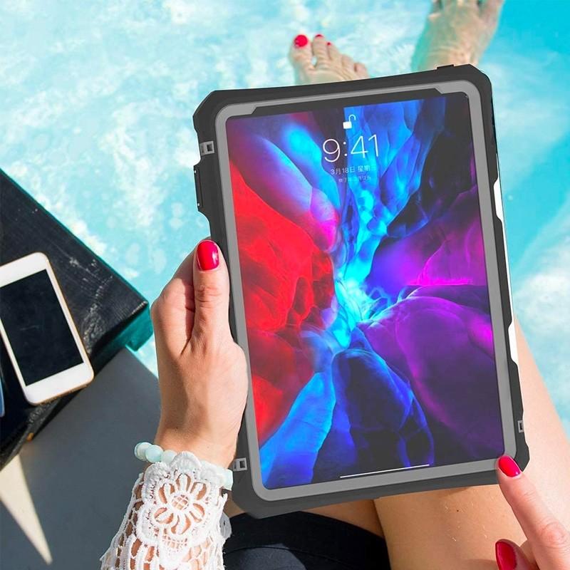 Mobiq Waterdichte Hoes iPad Pro 11 inch (2021/2020) Zwart - 4
