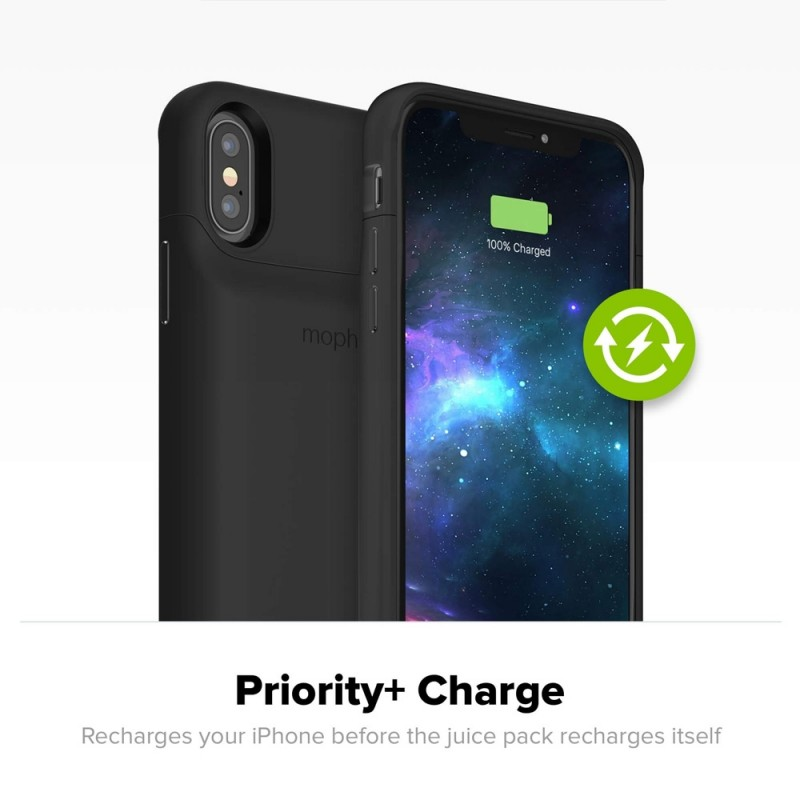 Mophie Juice Pack Access iPhone XS Max Zwart - 4