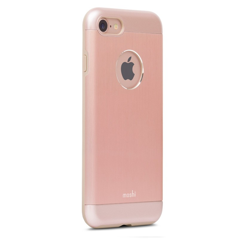 Moshi iGlaze Armour iPhone 7 Rose Gold - 3