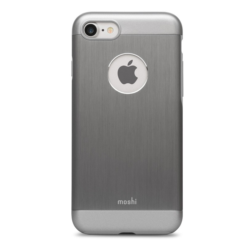 Moshi iGlaze Armour iPhone 7 Gunmetal Grey - 1