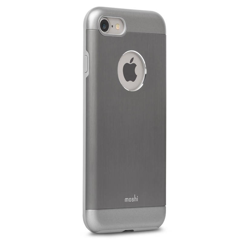 Moshi iGlaze Armour iPhone 7 Gunmetal Grey - 2