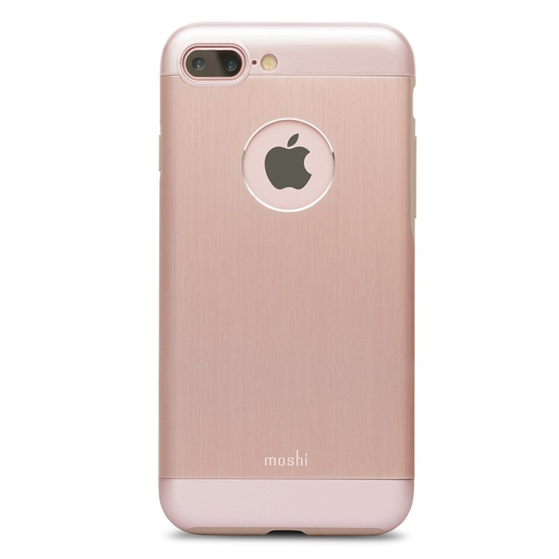 Moshi iGlaze Armour iPhone 8 Plus/7 Plus Golden Rose - 3