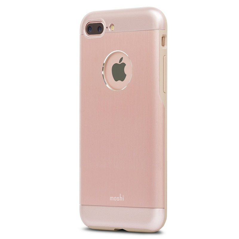 Moshi iGlaze Armour iPhone 8 Plus/7 Plus Golden Rose - 2