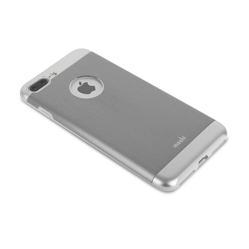 Moshi iGlaze Armour iPhone 8 Plus/7 Plus Gunmetal Grey - 1