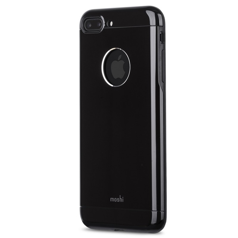 Moshi iGlaze Armour iPhone 8 Plus/7 Plus Jet Black - 3