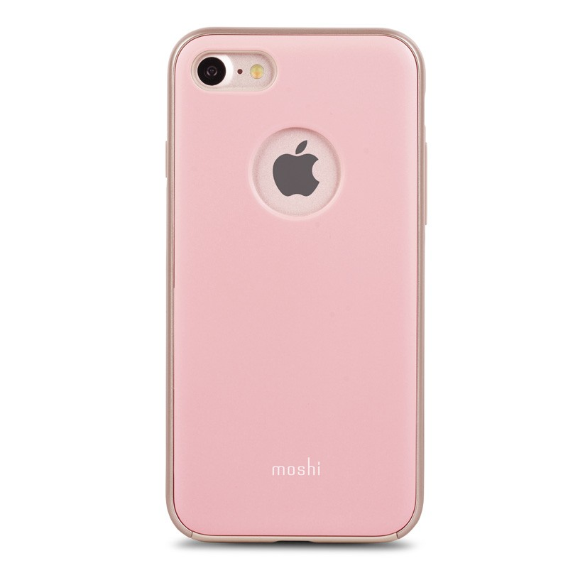 Moshi iGlaze Napa iPhone 7 Blush Pink - 1