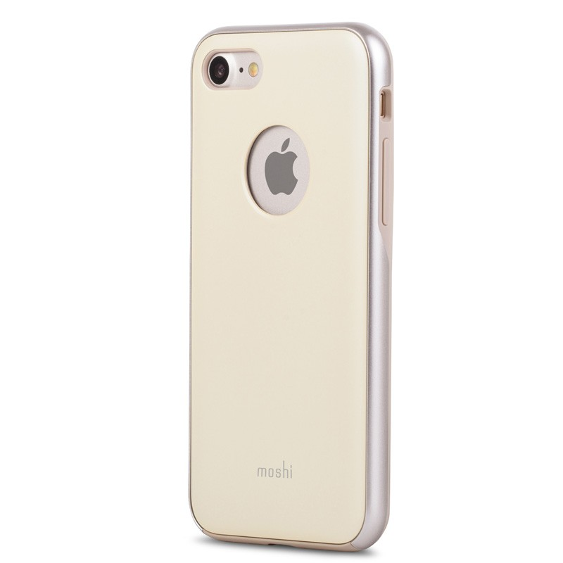 Moshi iGlaze Napa iPhone 7 Mellow Yellow - 1