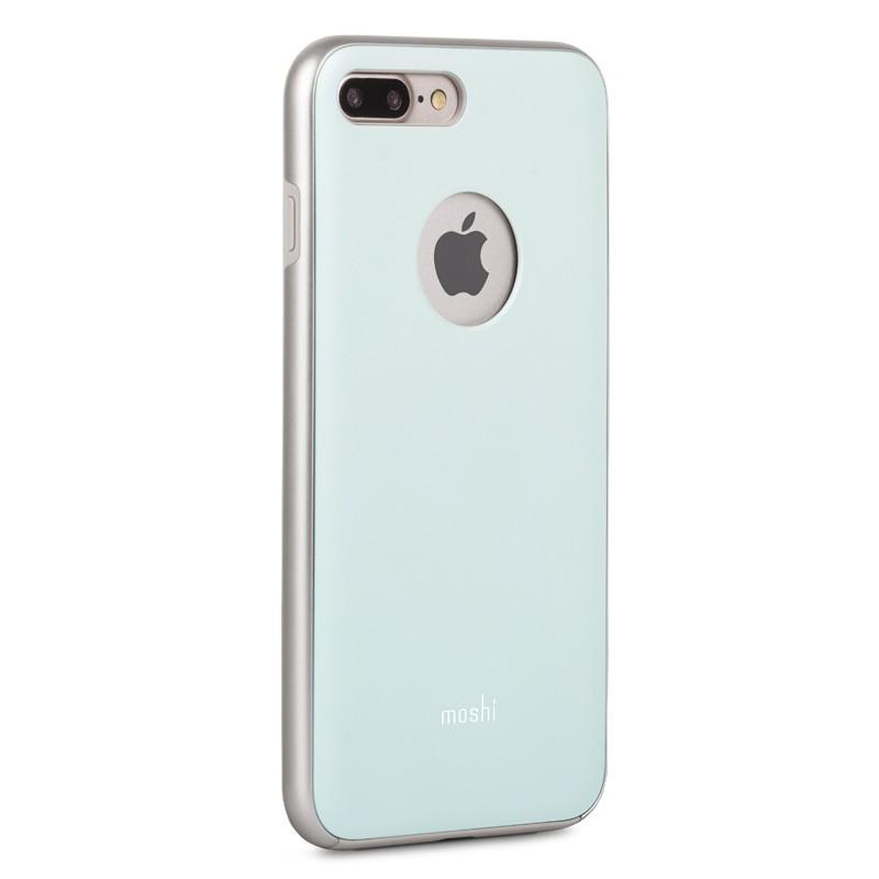 Moshi iGlaze Napa iPhone 7 Plus Powder Blue - 3