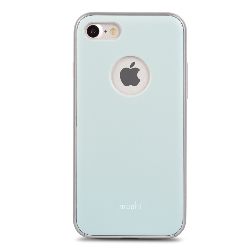 Moshi iGlaze Napa iPhone 7 Powder Blue - 1