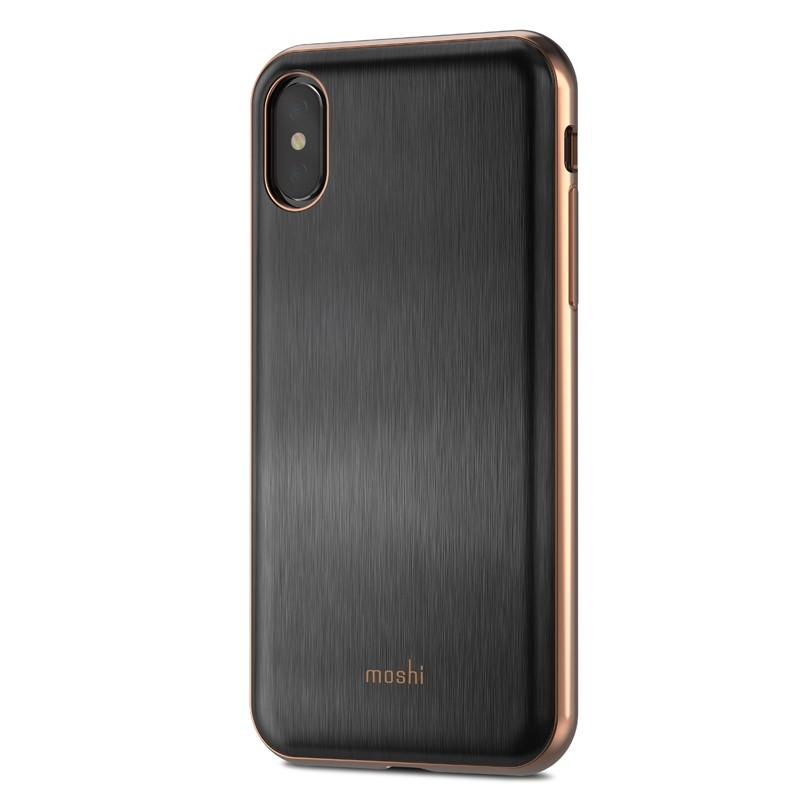 Moshi iGlaze iPhone X/Xs Imperial Black - 1