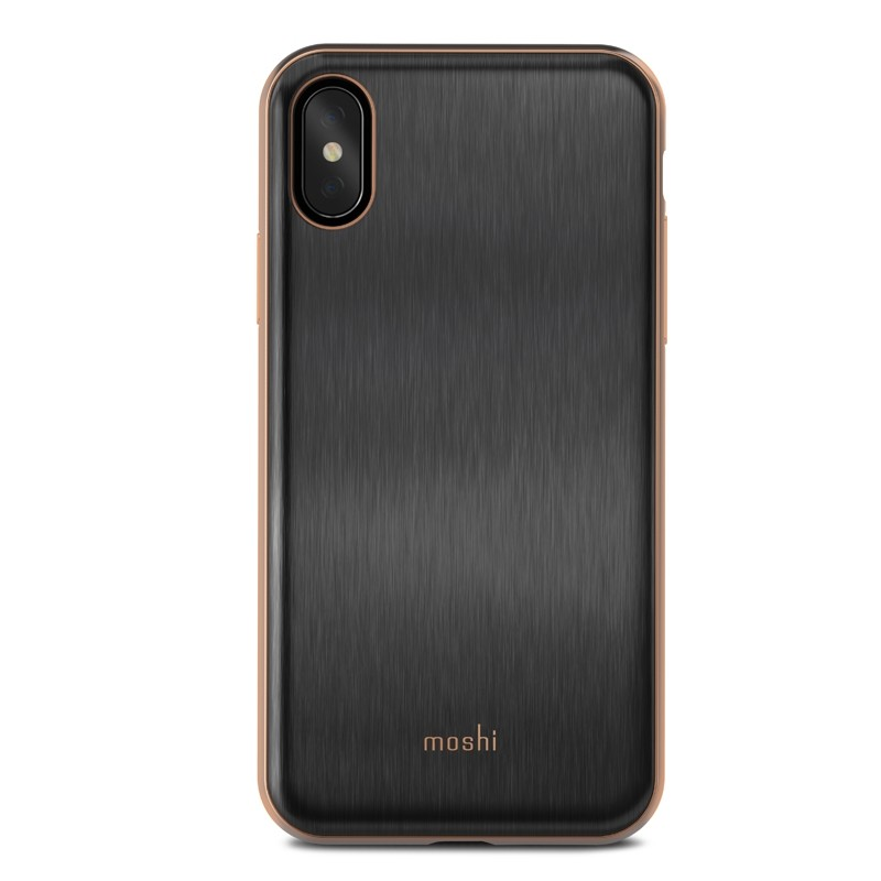 Moshi iGlaze iPhone X/Xs Imperial Black - 2
