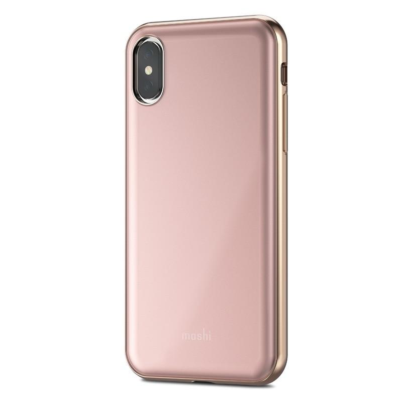 Moshi iGlaze iPhone X/Xs Taupe Pink - 1