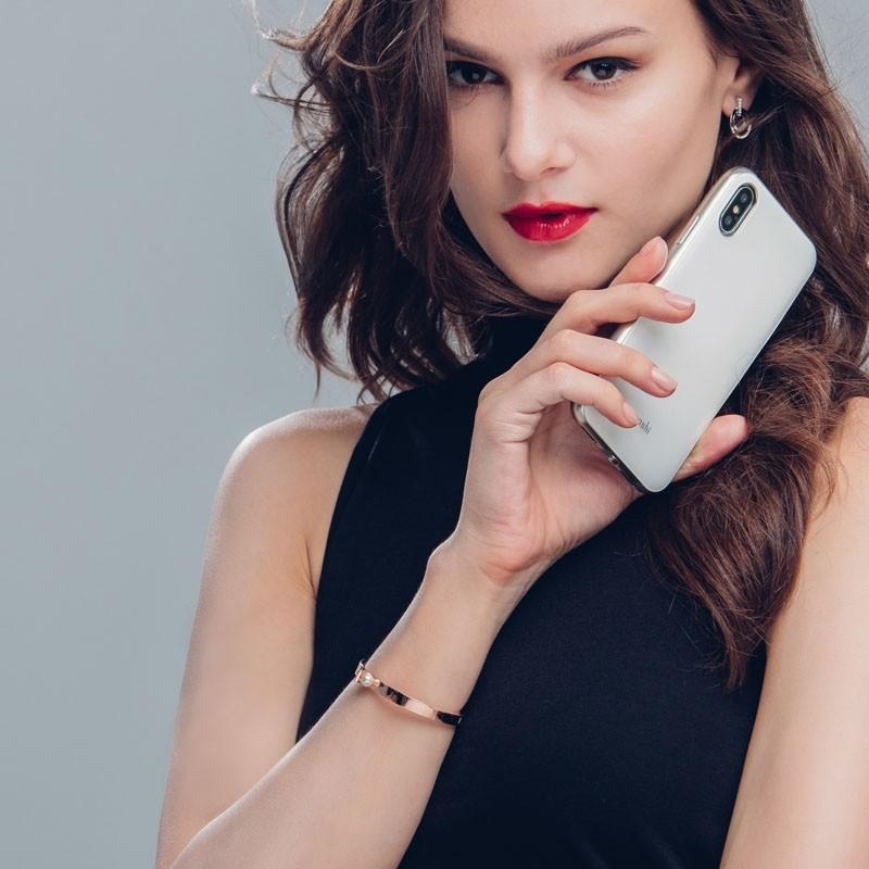 Moshi iGlaze iPhone X/Xs Pearl White - 7
