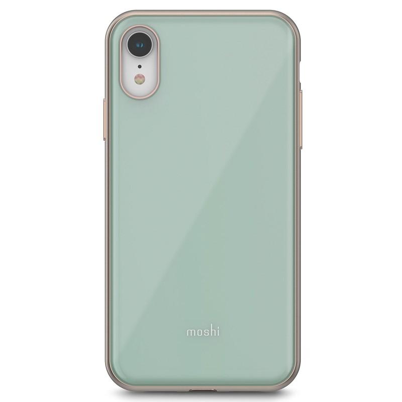 Moshi iGlaze iPhone XR Cover Blauw 01