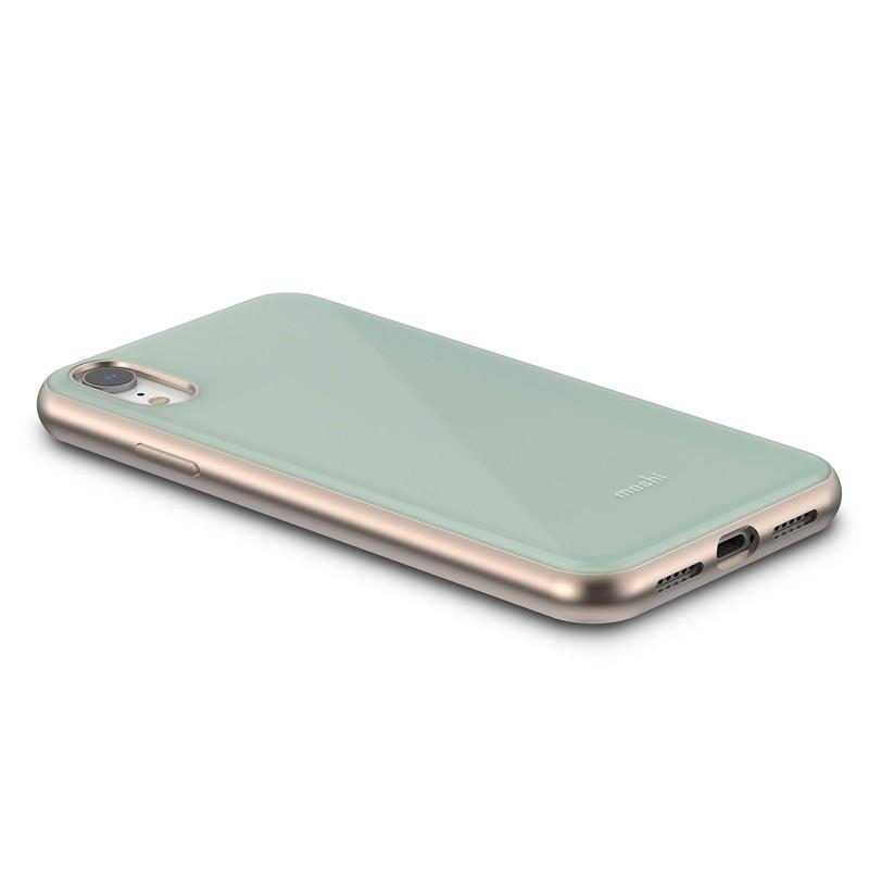 Moshi iGlaze iPhone XR Cover Blauw 03