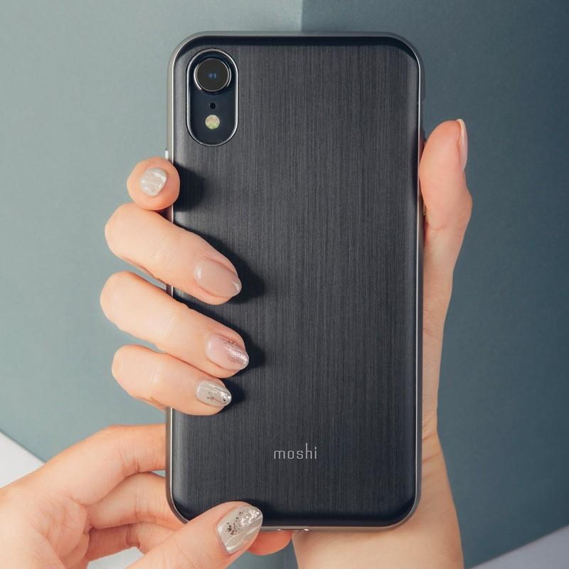 Moshi iGlaze iPhone XR Cover Armour Black 05