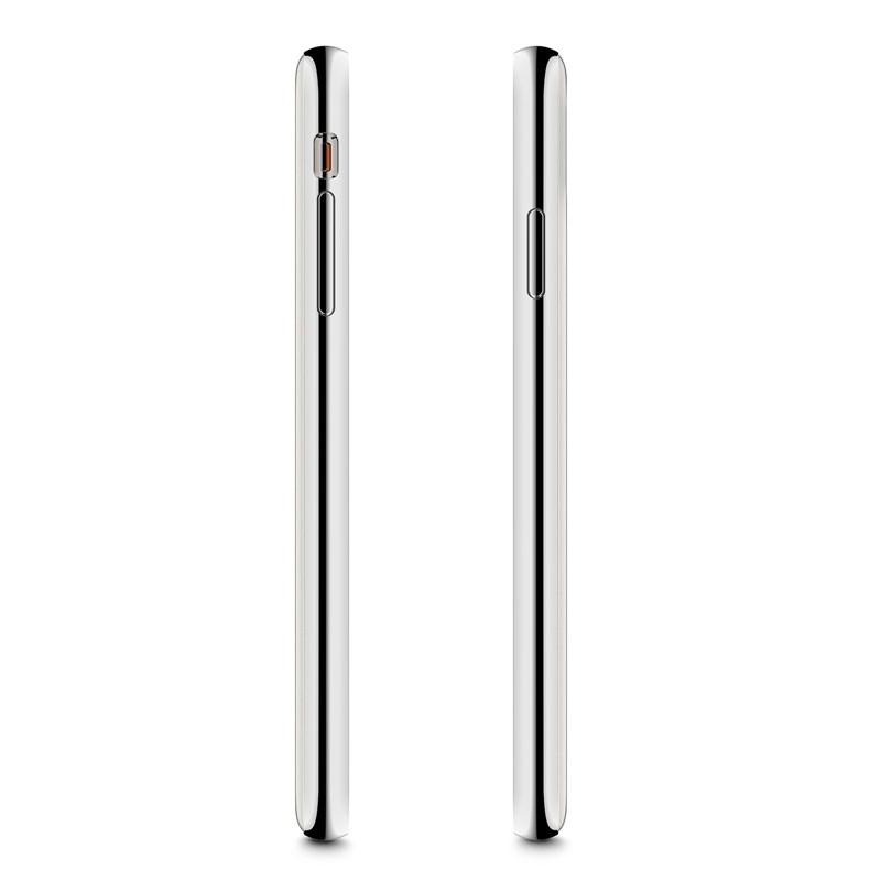 Moshi iGlaze iPhone XS Max Hoesje Pearl White 03