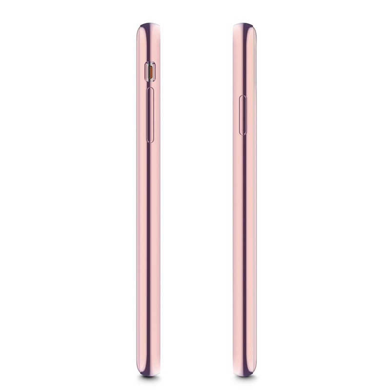 Moshi iGlaze iPhone XS Max Hoesje Taupe Pink 03