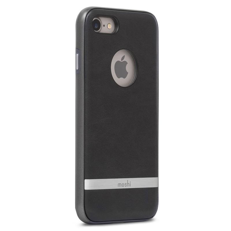 Moshi iGlaze Napa iPhone 7 Charcoal Black - 3