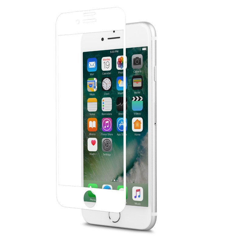 Moshi IonGlass iPhone 6/6S/7 White - 2