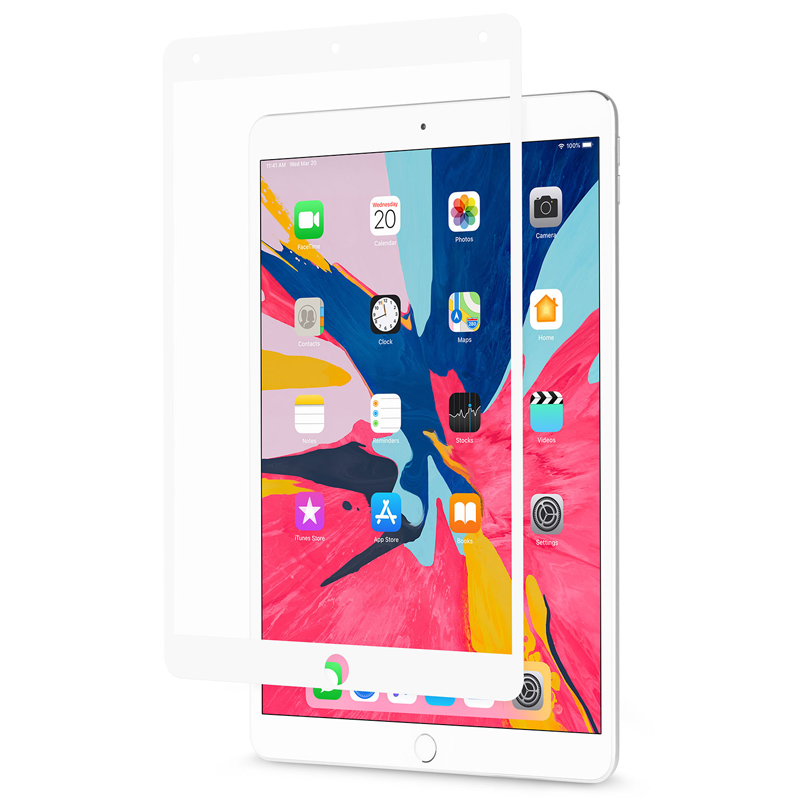 Moshi - iVisor AG iPad Air 2019 / Pro 10.5 Screenprotector Wit 02