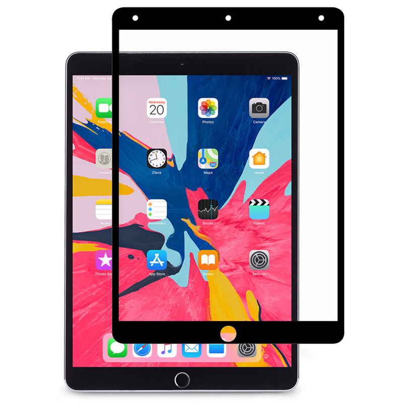 Moshi - iVisor AG iPad Air 2019 / Pro 10.5 Screenprotector Zwart 01