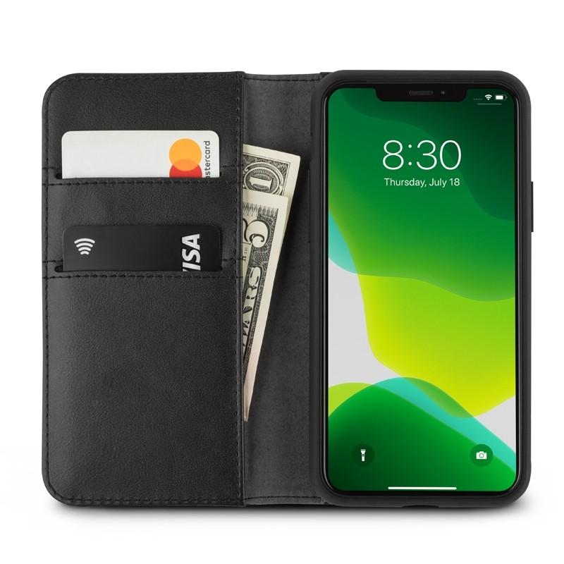 Moshi Overture Wallet iPhone 11 Pro Zwart - 1