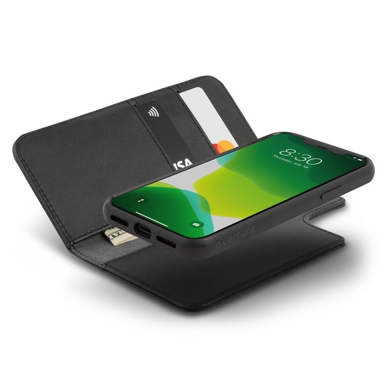 Moshi Overture Wallet iPhone 11 Pro Zwart - 2