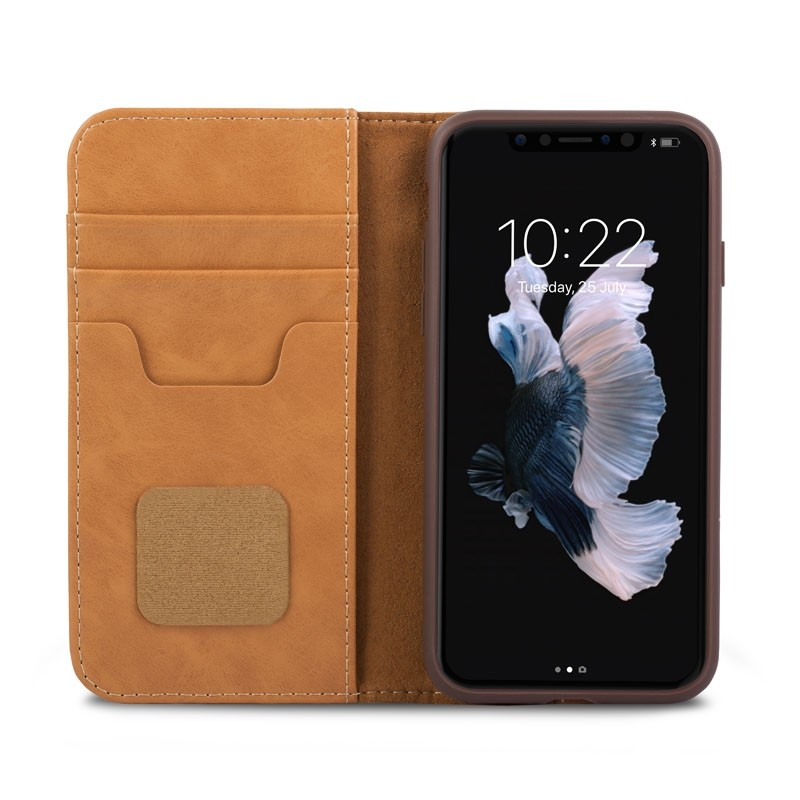 Moshi Overture iPhone X/Xs Wallet Caramel Brown - 1